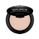 Stay Matte But Not Flat Powder Foundation: Creamy Natural