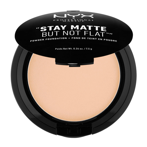 Stay Matte But Not Flat Powder Foundation: Natural