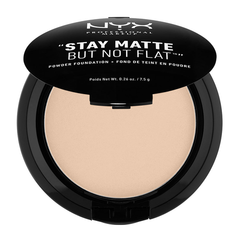 Stay Matte But Not Flat Powder Foundation: Nude