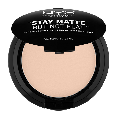 Stay Matte But Not Flat Powder Foundation: Porcelain