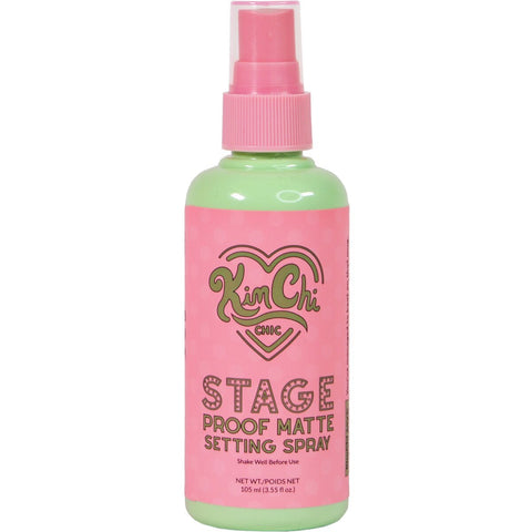 PINK-MINT STAGE PROOF MATTE SETTING SPRAY - KIMCHI CHIC