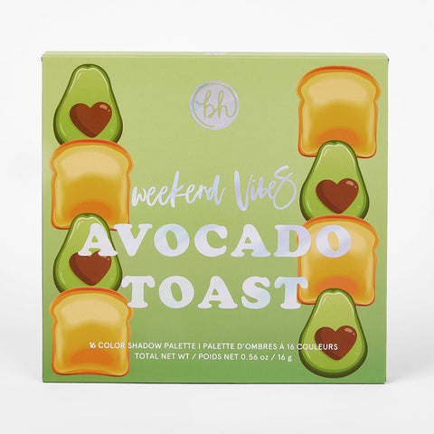 bh cosmetics- Weekend Vibes Avocado Toast