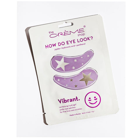 VIBRANT HYDROGEL EYE PATCH - Jojoba, hyaluronic acid y panthenol