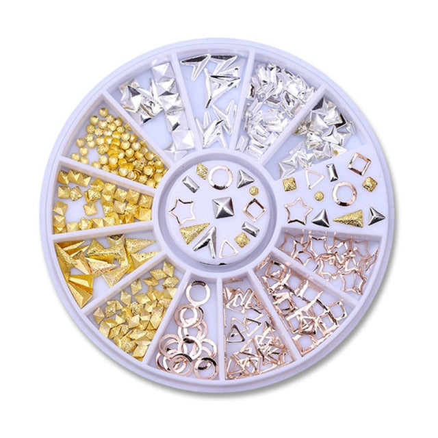 Nail Art Rhinestones Decoration Accessories - Secret Beauties