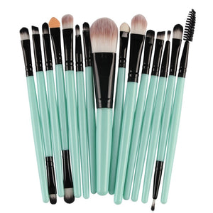 MAANGE Pro 15Pcs Makeup Brushes Set