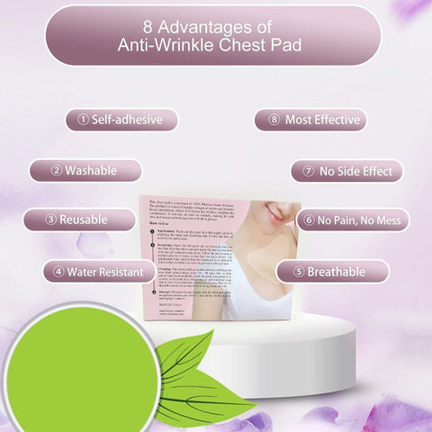 Image of ANTI-WRINKLE SILICONE CHEST PADS - Secret Beauties