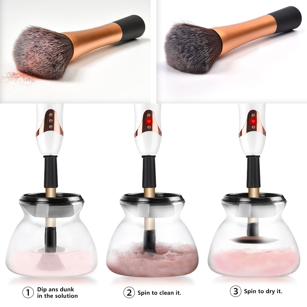 Makeup Brush Cleaner and Dryer - Secret Beauties