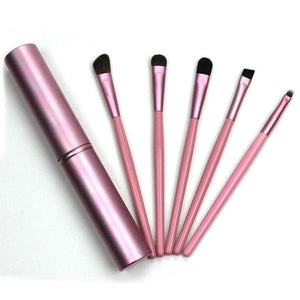 5pcs Mini Travel Eye Makeup Brushes