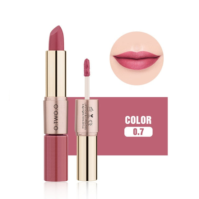 O.TWO.O 2 In 1 Lipstick/Lip Gloss - Secret Beauties