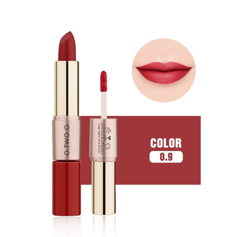 Image of O.TWO.O 2 In 1 Lipstick/Lip Gloss - Secret Beauties