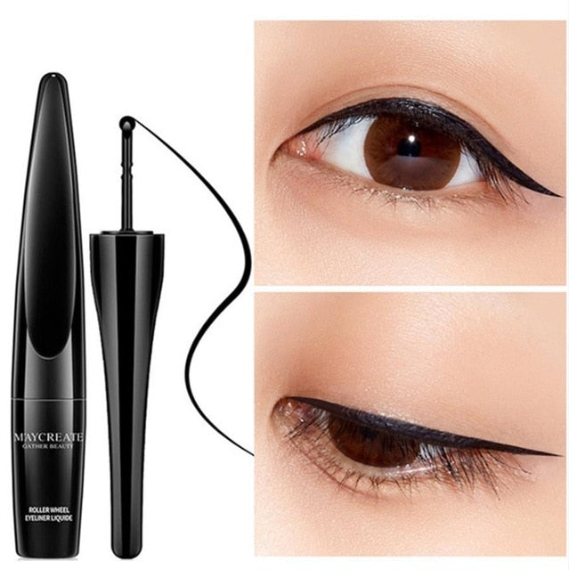 No-Skip Rollerwheel Eye Liner – Eye Liner 1pcs - Secret Beauties