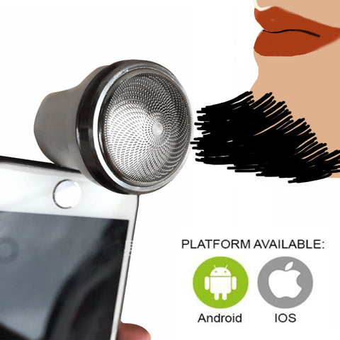 Image of Portable Smart Phone Shaver - Secret Beauties