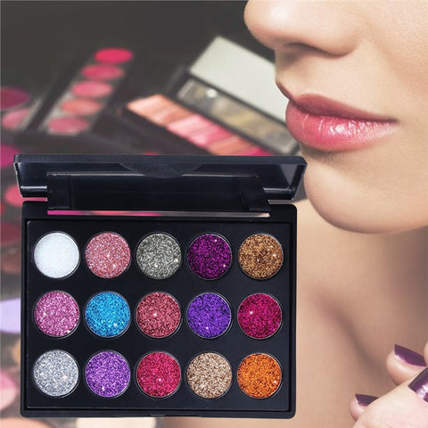 Image of 15 Colors Eye Shadow Matte Pearly Lustre Makeup Palette Combination Cosmetic Pallet - Secret Beauties