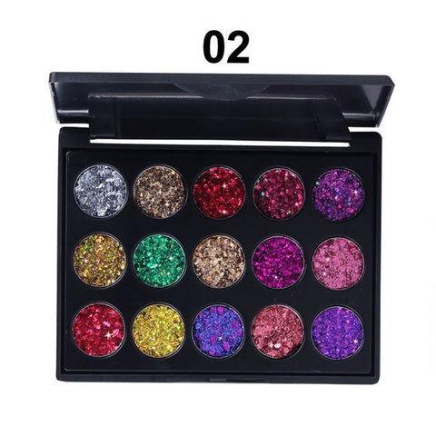 15 Colors Eye Shadow Matte Pearly Lustre Makeup Palette Combination Cosmetic Pallet - Secret Beauties