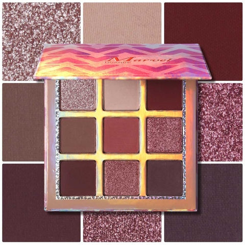 UCANBE Highly Pigmented Shimmer Matte Eye Shadow Palette - Secret Beauties