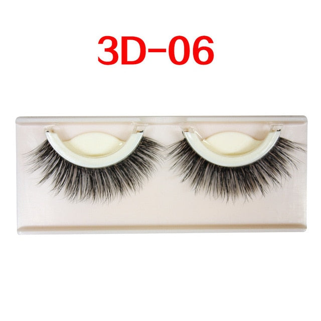 Self-adhesive natural curly eyelashes - Secret Beauties