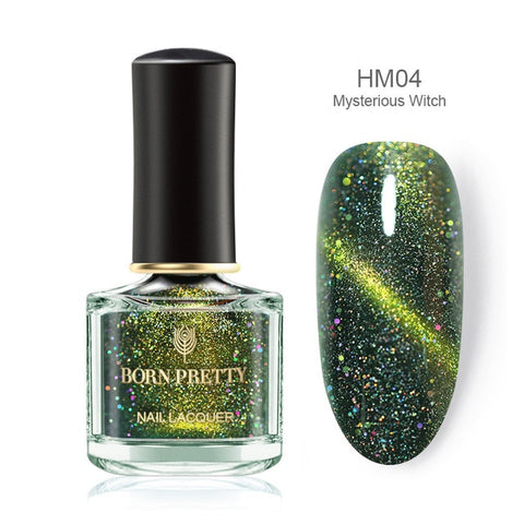BORN PRETTY Chameleon 3D Cat Eyes Nail Polish - Secret Beauties