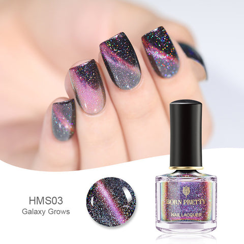 Image of BORN PRETTY Chameleon 3D Cat Eyes Nail Polish - Secret Beauties