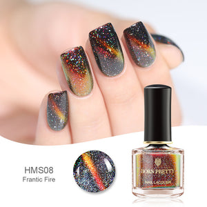 BORN PRETTY Chameleon 3D Cat Eyes Nail Polish