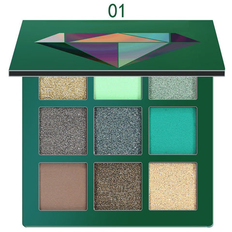 Glitter Matte Eyeshadow Pallete - Secret Beauties