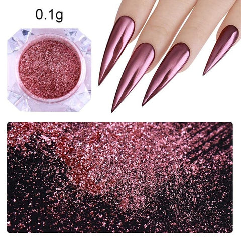 Chrome Nails Powder - Secret Beauties