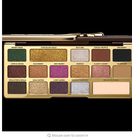 Image of Highly Pigmented Matte Glitter Eyeshadow Palette - Secret Beauties
