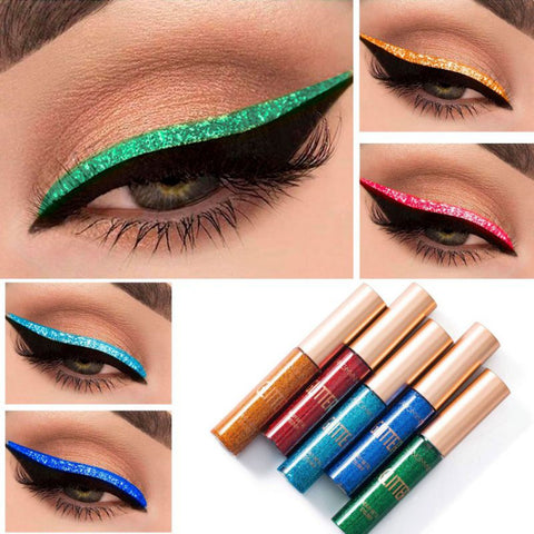 Image of 10 Color Glitter Liquid Eyeliner - Secret Beauties