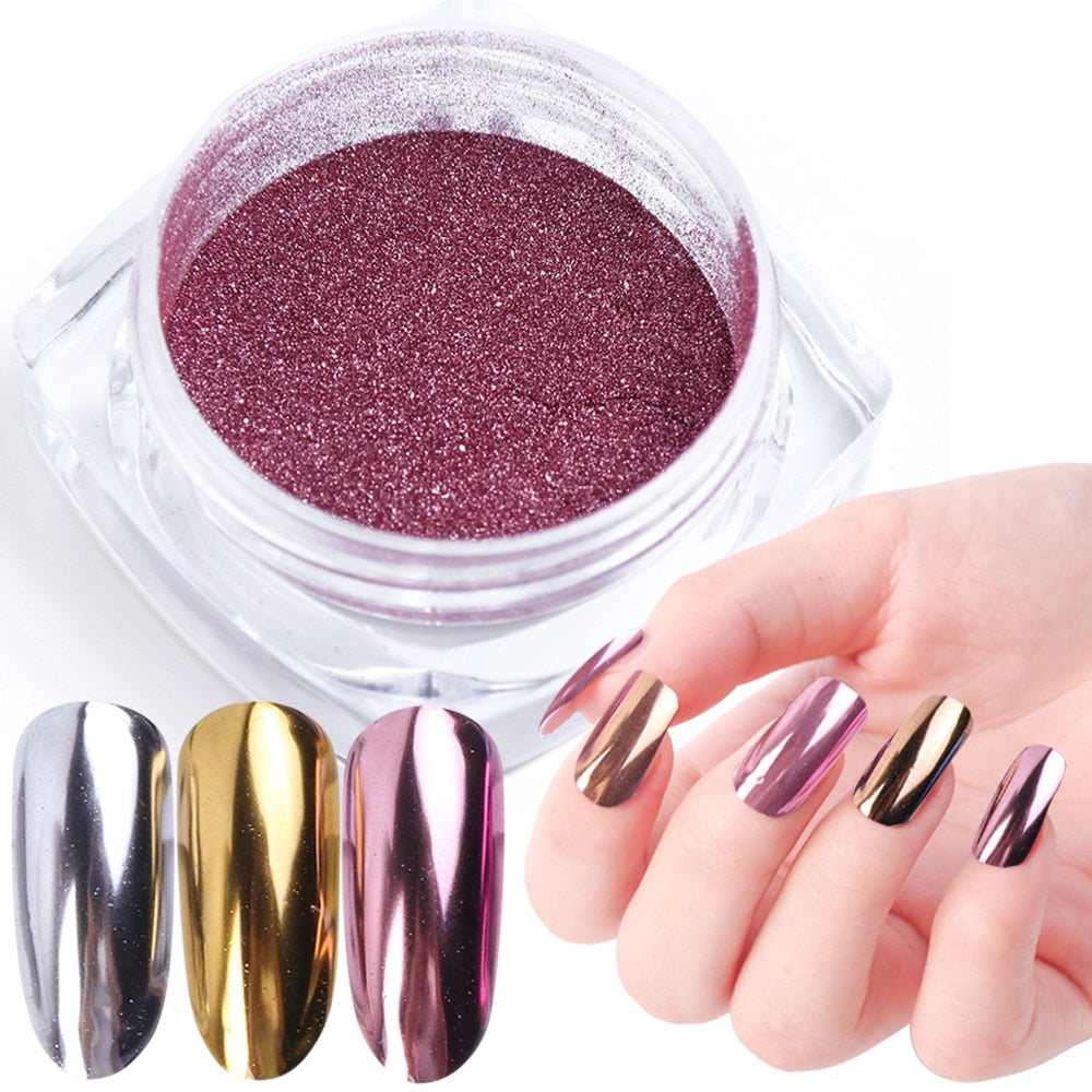 Nail Chrome Dip Powder - Secret Beauties