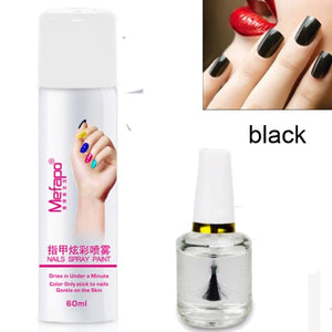 Easy Nail Polish and Base Coat Spray