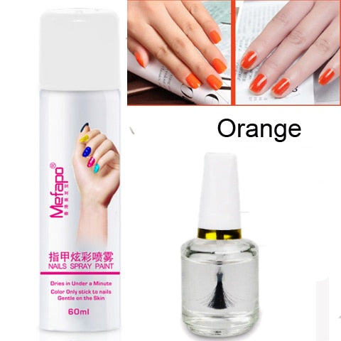 Easy Nail Polish and Base Coat Spray - Secret Beauties
