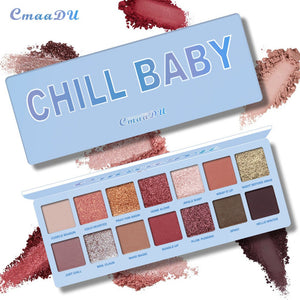 14 Color Waterproof Eyeshadow Pallete - Secret Beauties