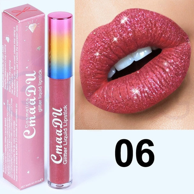 Diamond Glitter Liquid Lipstick - Secret Beauties