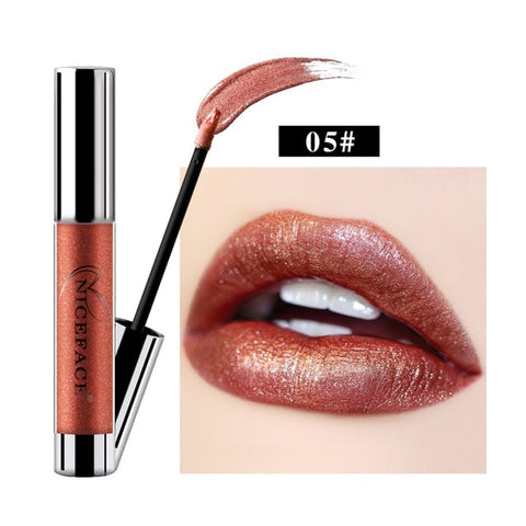 Image of Metallic Waterproof Liquid Lipstick - Secret Beauties