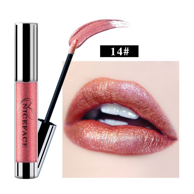 Metallic Waterproof Liquid Lipstick - Secret Beauties