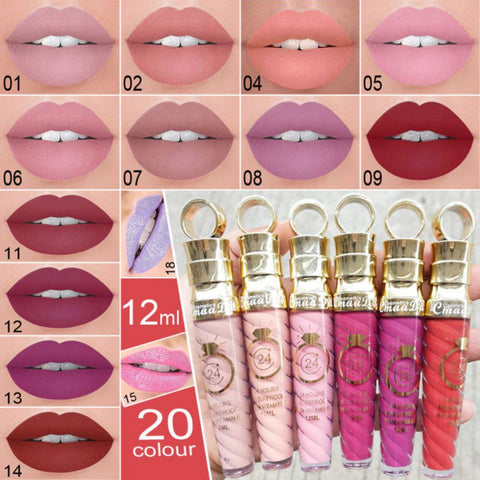 Image of Waterproof Glitter Lip Gloss Lipstick - Secret Beauties