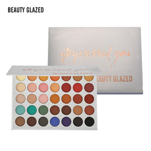 Beauty Glazed 35 Color Glitter Shimmer Eyeshadow Palette
