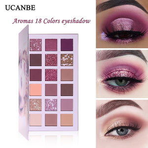 UCANBE Rose Glitter Eyeshadow Palette - Secret Beauties