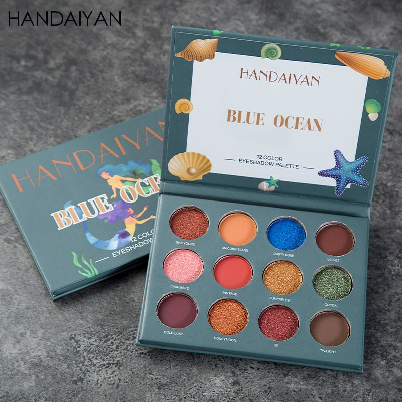HANDAIYAN Shimmer Matte Eyeshadow - Secret Beauties