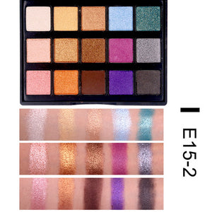 Highly Pigmented Matte Shimmer Eyeshadow Palette - Secret Beauties