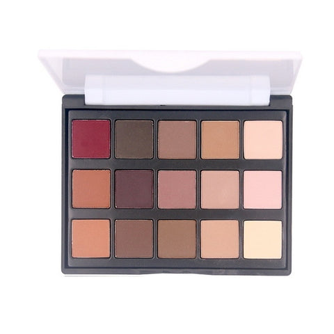 Image of Highly Pigmented Matte Shimmer Eyeshadow Palette - Secret Beauties