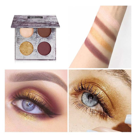 Pudaier Shimmer Matte Eyeshadow Palette - Secret Beauties
