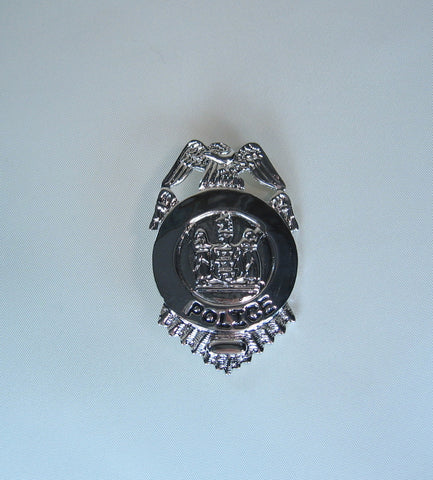 BADGE POLICE WITH EAGLE