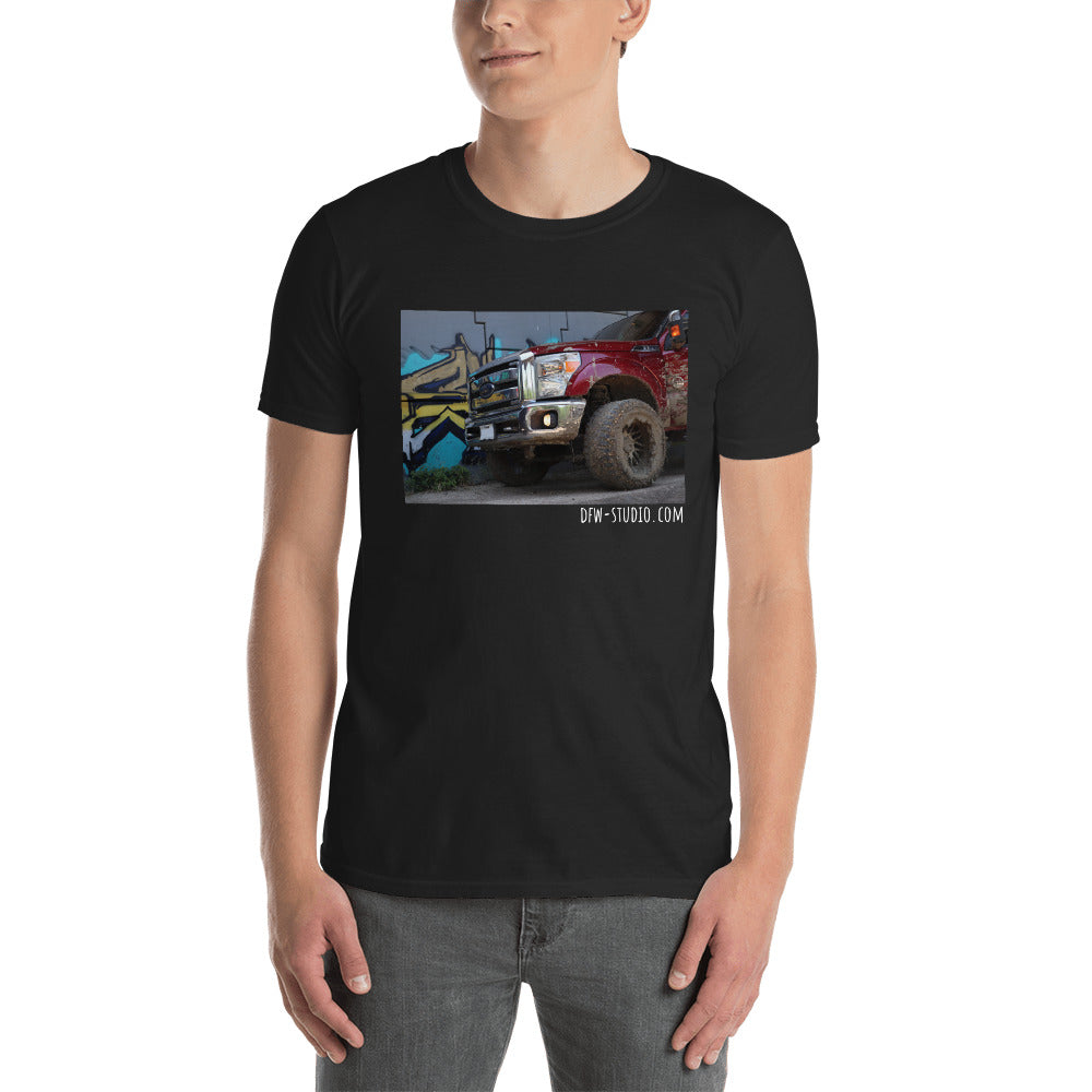 Maroon F-250 Graffiti T-shirt