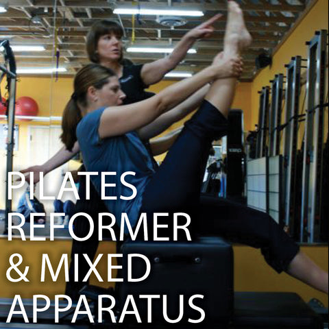 Pilates Reformer and Mixed Apparatus