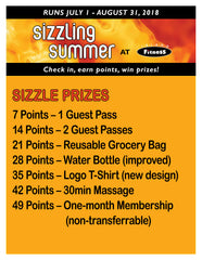 Sizzling Summer Prizes