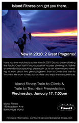 Train to Climb Information Session - Open to the Public
