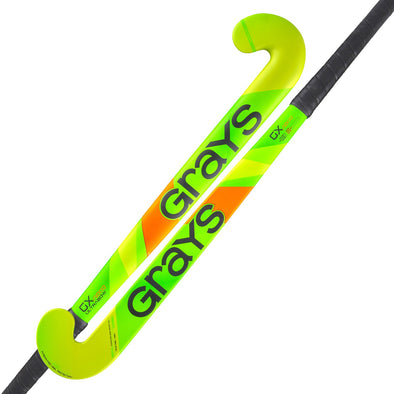 Grays GX1000 Ultrabow Fluorescent Green Composite Field Hockey Stick