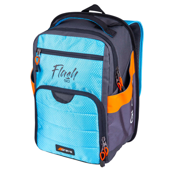Grays Flash 50 Field Hockey Back Pack - Sky Blue/Charcoal