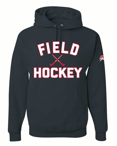 Cross Sticks Field Hockey Hooded Top
