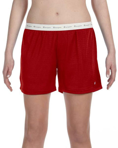 Champion Red Shorts